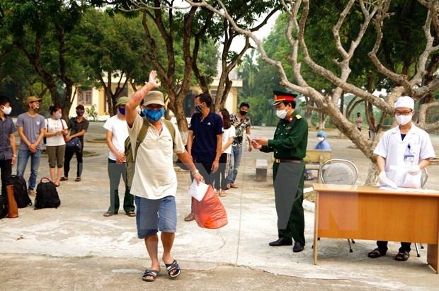 Amanece Vietnam sin reporte de nueva victima de COVID-19 hinh anh 1