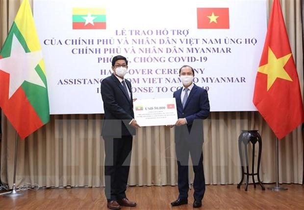 Vietnam apoya a Myanmar en la lucha contra COVID-19 hinh anh 1