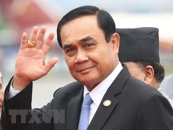 Asistira premier tailandes a reunion virtual ASEAN + 3 sobre COVID-19 hinh anh 1