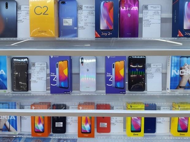 Telefonos vietnamitas Vsmart logra 16,7 por ciento de cuota de mercado domestico hinh anh 1