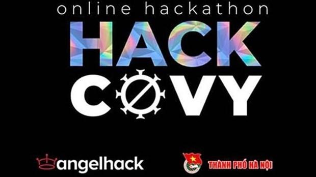 Hanoi lanza concurso de programacion en linea para combatir COVID-19 hinh anh 1