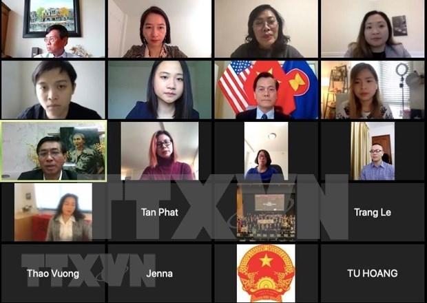 Embajada de Vietnam en Estados Unidos da prioridad a la proteccion ciudadana hinh anh 1