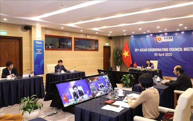 ASEAN 2020: Aumentar la resiliencia y adaptacion a los desafios de epidemia hinh anh 1