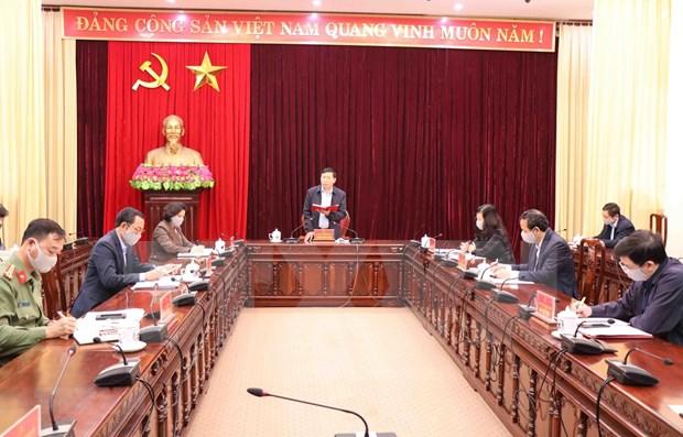 Provincia vietnamita de Bac Ninh rastrea casos relacionados con paciente del COVID-19 hinh anh 1