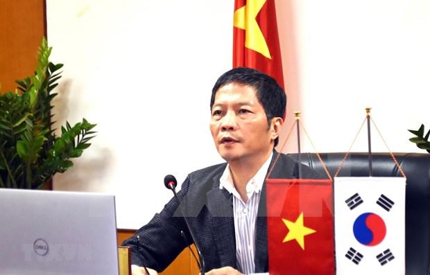 Vietnam y Corea del Sur apuestan por impulso de nexos comerciales hinh anh 1