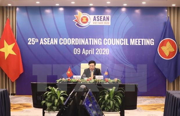 Vietnam fortalece, junto a la ASEAN, la lucha contra el COVID-19 hinh anh 1