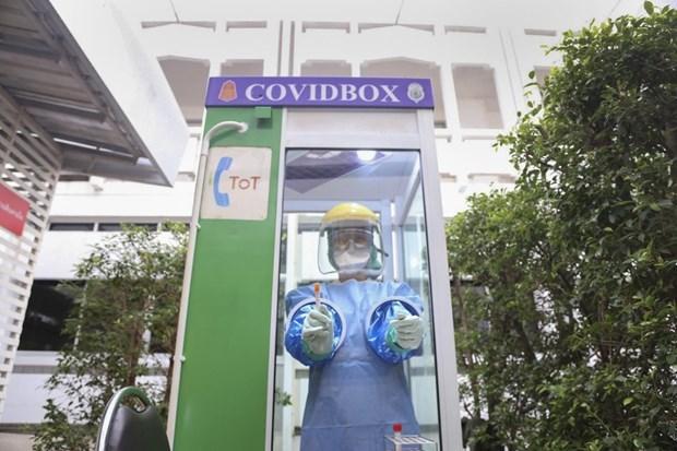 Tailandia instalara cabinas telefonicas para pruebas de COVID-19 hinh anh 1
