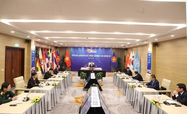 Cumbres Especiales de la ASEAN centran atencion de la prensa internacional hinh anh 1