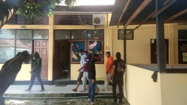 Cuatro sospechosos de terrorismo arrestados en Indonesia hinh anh 1