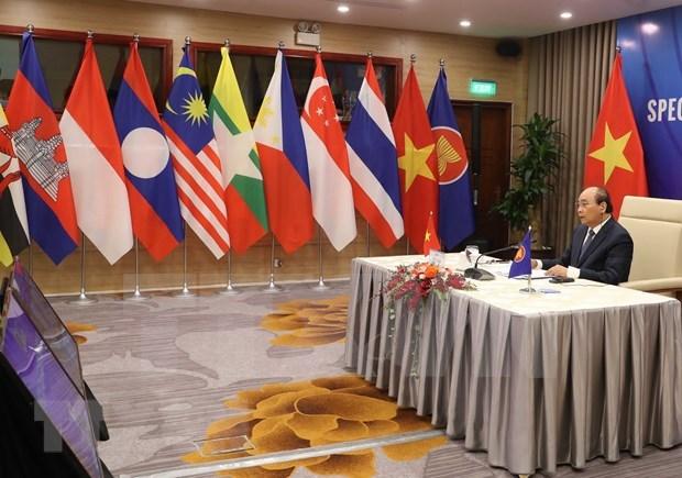 Japon realza papel directivo de Vietnam como presidente de la ASEAN en 2020 hinh anh 1