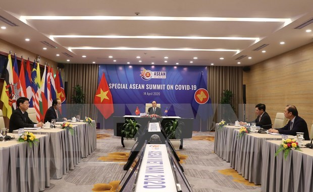 Destacan solidaridad de la ASEAN en combate contra pandemia hinh anh 1