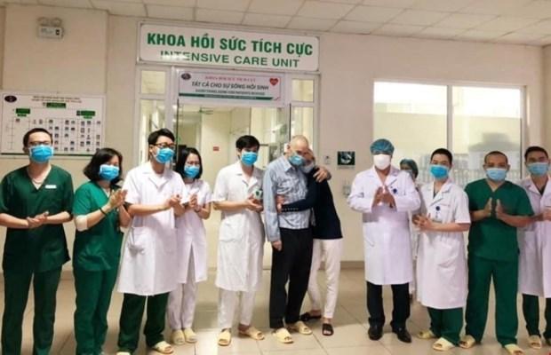 Vietnam registra otros 22 pacientes recuperados de COVID-19 hinh anh 1
