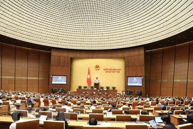 Noveno periodo de sesiones parlamentarias de Vietnam incluira teleconferencias hinh anh 1
