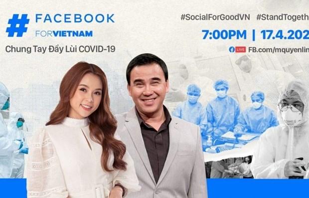 Facebook se une a la lucha contra el COVID-19 en Vietnam hinh anh 1