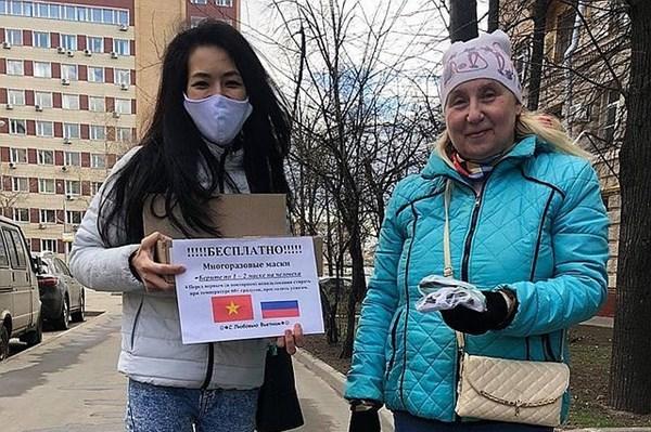 Periodico ruso destaca imagenes de comunidad vietnamita en combate contra epidemia hinh anh 1