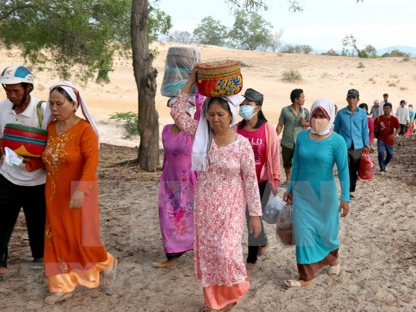 Etnia Cham Bani en Vietnam suspende actividades por Ano Nuevo Ramuwan hinh anh 1