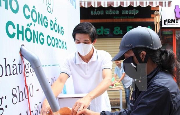 """Medios internacionales destacan iniciativa de """"cajero automatico"""" de arroz gratis en Vietnam hinh anh 1"""