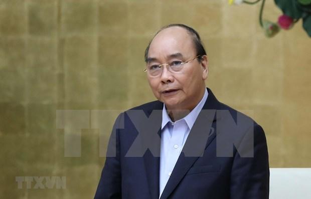 """Premier de Vietnam dialogara con empresarios para """"reiniciar"""" la economia hinh anh 1"""
