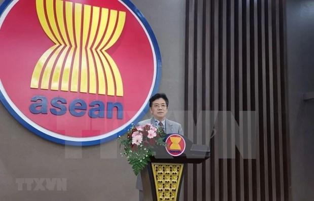China apoya las actividades de Vietnam como presidente de la ASEAN en 2020 hinh anh 1