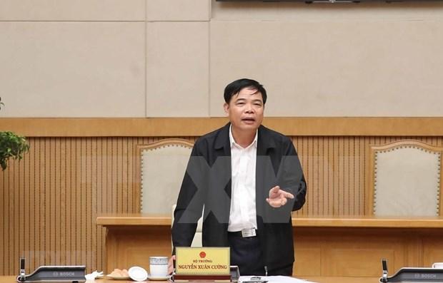 Vietnam y China buscan medidas para promover comercio de productos agricolas hinh anh 1