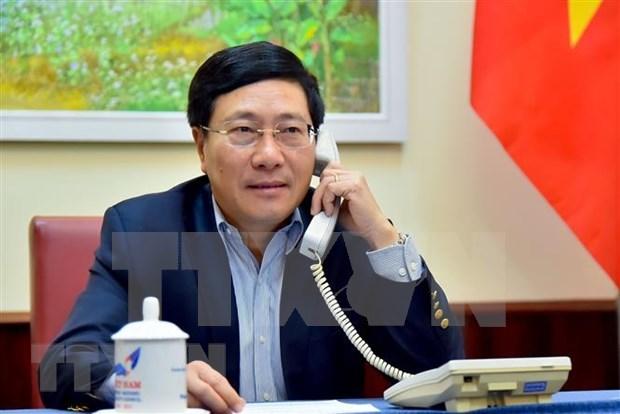 Fortalecen Vietnam y Australia cooperacion en lucha antiepidemica hinh anh 1