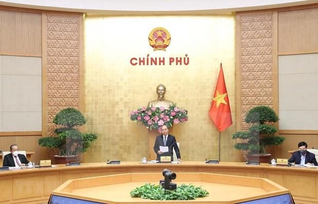 Agradece premier de Vietnam respaldo del pueblo a lucha antiepidemica hinh anh 1