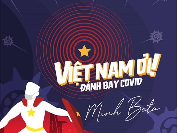 Aprecia prensa internacional cancion sobre el COVID-19 de musico vietnamita hinh anh 1