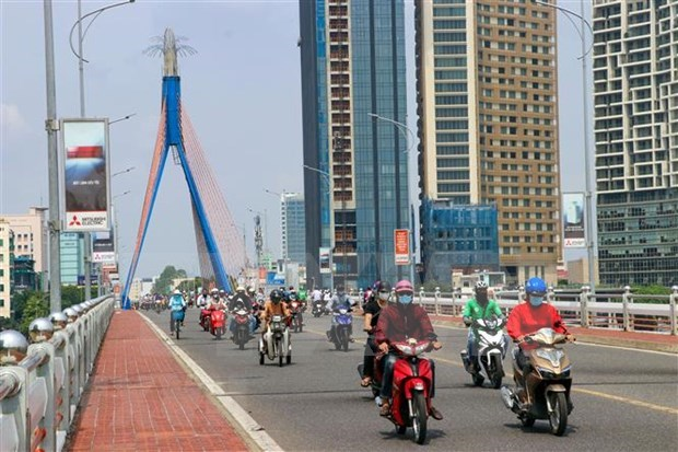 Ciudad vietnamita de Da Nang adopta soluciones drasticas para frenar el COVID-19 hinh anh 1