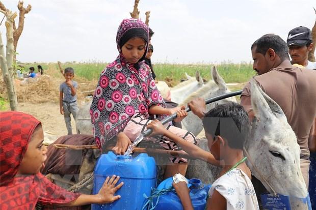 Expresa Vietnam preocupacion por crisis humanitaria en Yemen hinh anh 1