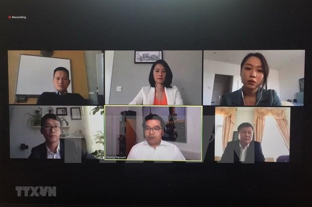 Embajador vietnamita destaca colaboracion con Alemania en COVID-19 hinh anh 1