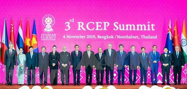 Promueven firma de RCEP en Cumbre de ASEAN 2020 hinh anh 1