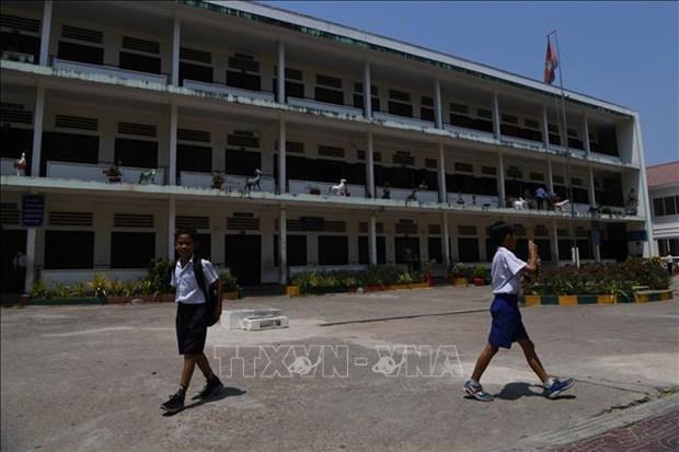 Camboya mantiene cerradas las escuelas por COVID-19 hinh anh 1