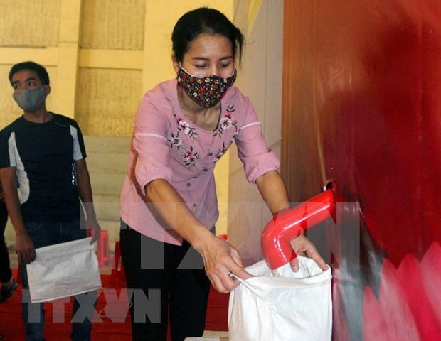 Instalan primer cajero automatico de arroz en provincia vietnamita de Ha Nam hinh anh 1