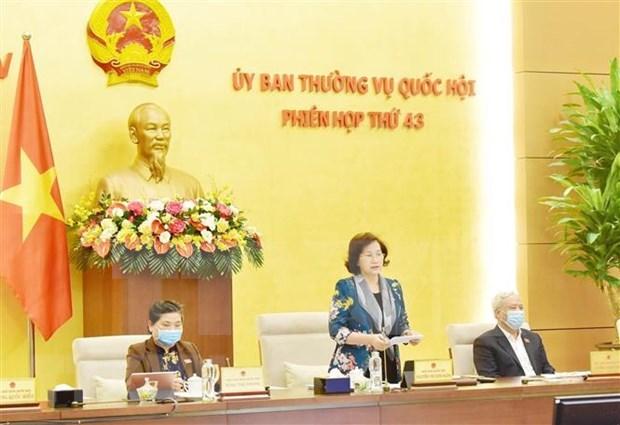 Sesionara la proxima semana Comite Permanente del Parlamento de Vietnam hinh anh 1
