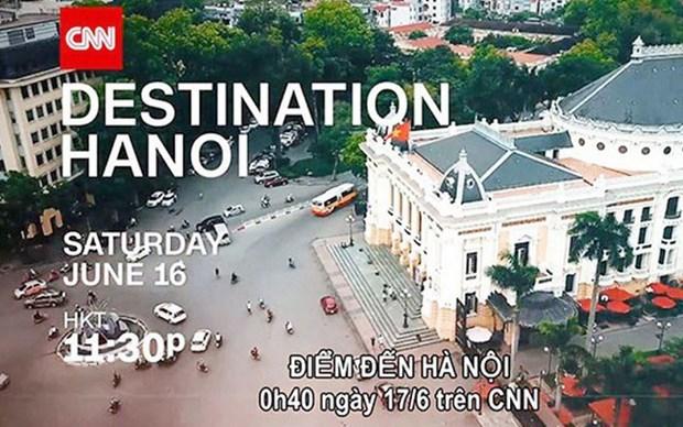 Hanoi suspende programa de promocion turistica de cuatro millones de dolares en CNN hinh anh 1