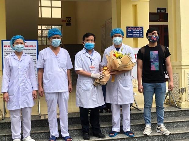 Otros cinco pacientes recuperados de COVID-19 en tres centros clinicos vietnamitas hinh anh 1