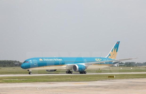 Vietnam Airlines realiza vuelo de carga gratis para apoyar la lucha antiepidemica hinh anh 1