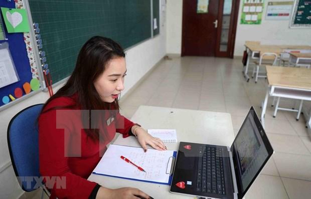 Vietnam vela por seguridad de estudiantes ante posible regreso a las aulas hinh anh 1