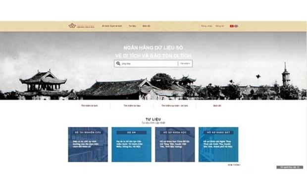 Promueven reliquias vietnamitas a traves de pagina digital hinh anh 1