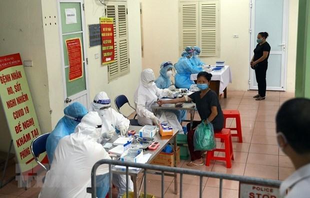 Estadistica alentadora: quinto dia sin nuevos casos de coronavirus en Vietnam hinh anh 1