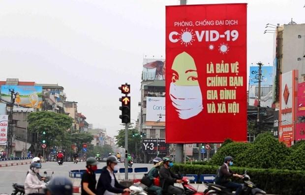 Partidos politicos del mundo destacan esfuerzos de Vietnam contra COVID- 19 hinh anh 1