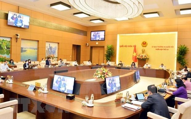 Estudia Parlamento de Vietnam ajustes de programa de leyes 2020 hinh anh 1