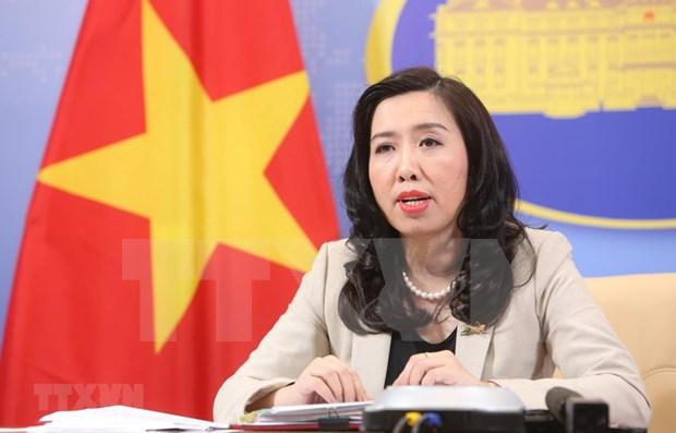 Vietnam atento a la situacion compleja en zonas maritimas de paises de ASEAN hinh anh 1