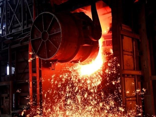 Empresa vietnamita de Hoa Phat aumenta exportaciones de acero hinh anh 1