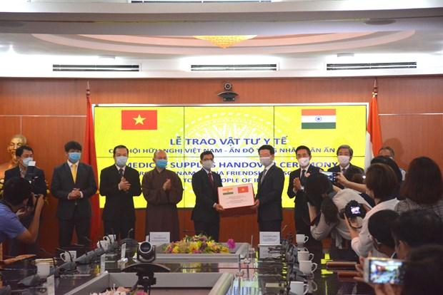 Vietnam apoya la India en combate al COVID-19 hinh anh 1