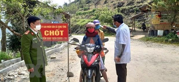 COVID-19: Vietnam pone en cuarentena a un pueblo de mas de siete mil pobladores hinh anh 1