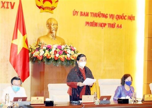 Diputados vietnamitas analizan promulgacion de Ley de Acuerdos Internacionales hinh anh 1