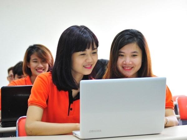 Ciudad Ho Chi Minh celebra concurso de elocuencia en ingles para bachilleres hinh anh 1