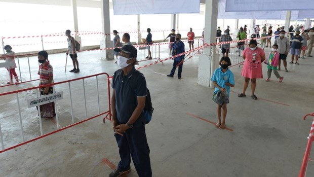 Tailandia reporta numero mas bajo de casos nuevos de COVID-19 en los ultimos 40 dias hinh anh 1