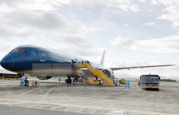 Aeropuerto de Van Don retomara los vuelos comerciales en mayo hinh anh 1